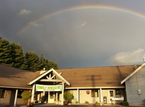 Rainbow Picture of Office